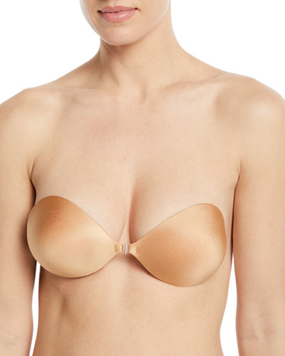 Seamless Push-Up Bra, Nude