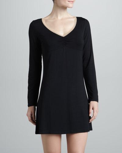 Rosa Long-Sleeve Night Dress