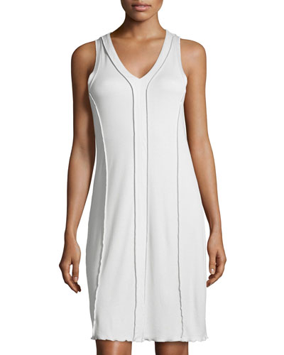 Pisa Tank Gown, Crystal Gray