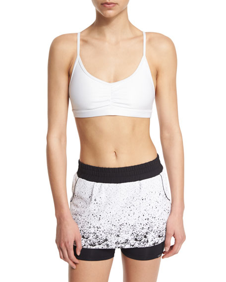 4fc315abefe66 Koral Activewear Element Sports Bra with Removable Cups