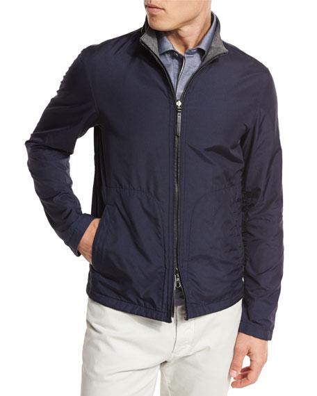 Ermenegildo Zegna Blouson Jacket, Shirt, & Pants