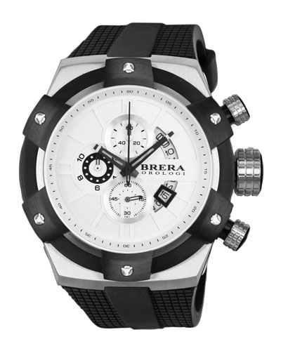 48mm Supersportivo Watch, White
