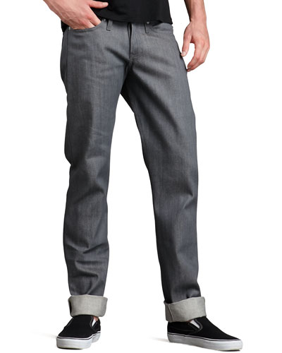 WeirdGuy Gray Selvedge Jeans
