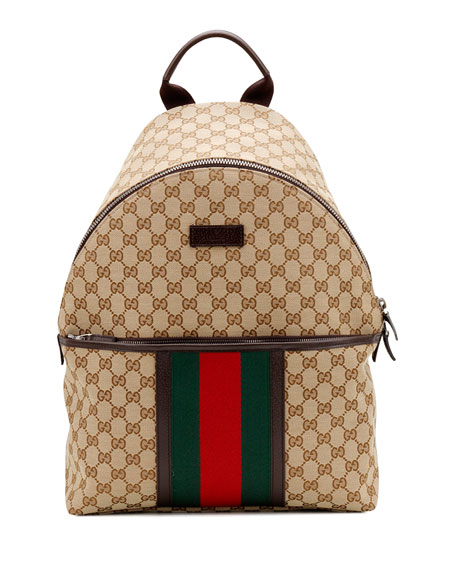 6af890164687 Gucci Original GG Canvas Backpack