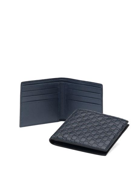5ae094543ad Gucci Micro Guccissima Bi-Fold Wallet