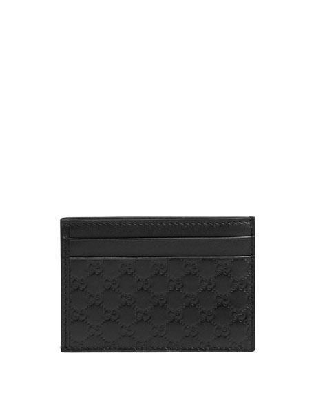 d008c7c433ad Gucci ID-Window Card Case, Black