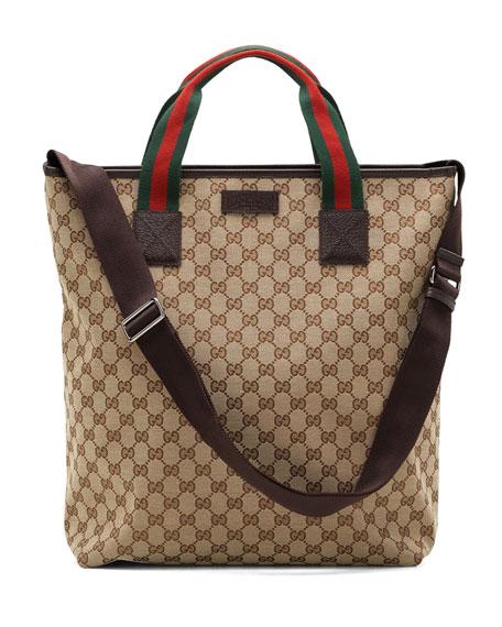 f00aa7d5c030 Gucci Signature Web Tote Bag