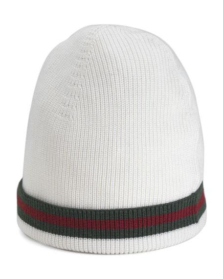 ce849c74b2a4 Gucci Crook Knit Hat