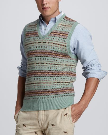 b5e8a21b5 Polo Ralph Lauren Fair Isle Sweater Vest