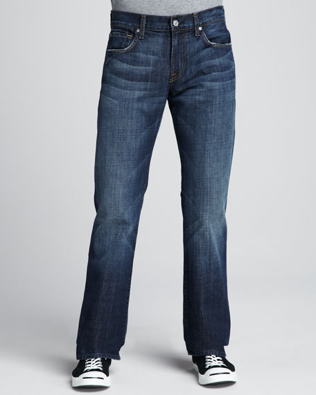 7 For All Mankind Brett Boot Cut New York Dark Jeans