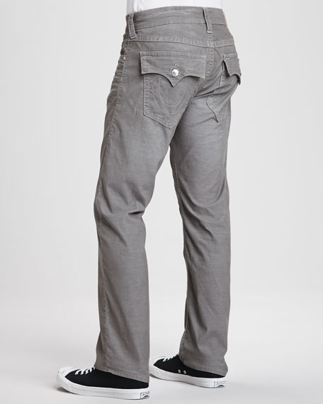 1d3a152df True Religion Ricky Straight-Leg Corduroy Jeans