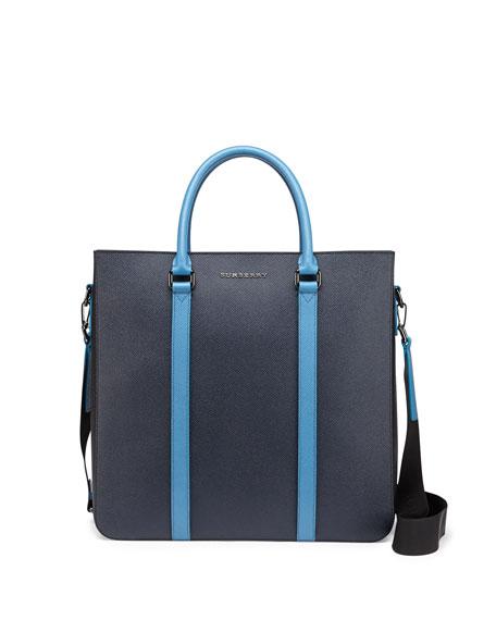 41d4d30d0c29 Burberry Pebbled Leather Tote Bag