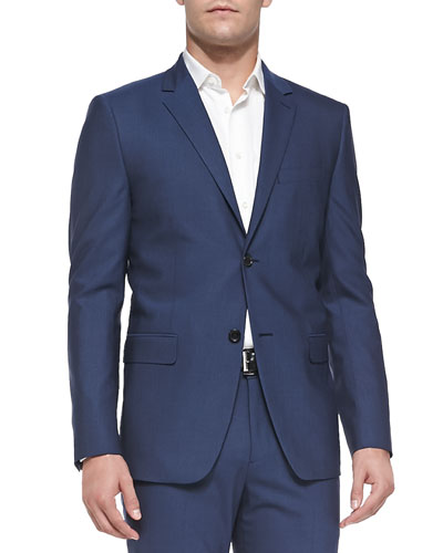 Wellar Tovare Two-Button Jacket, Blue