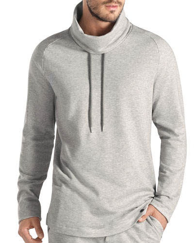 Torino Pullover Sweatshirt, Light Gray