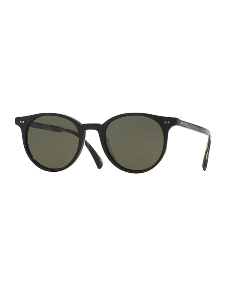 b7da853bd58 Oliver Peoples Eyewear Reigh Polarized Sunglasses