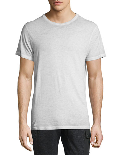 Trafford Cold-Dyed Short-Sleeve T-Shirt, Pale Mist