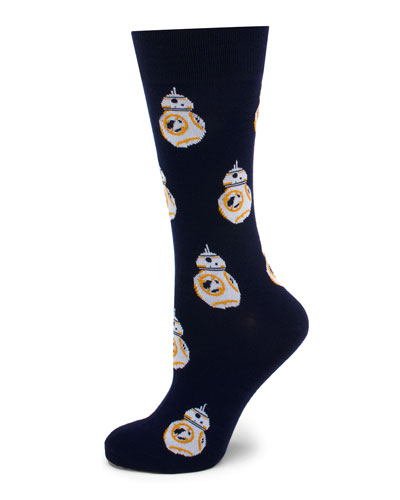 Star Wars BB-8 Droid Socks