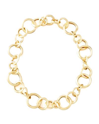 Jaipur Gold Link Necklace