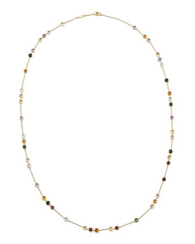 Jaipur Mini Mixed-Stone Necklace, 35