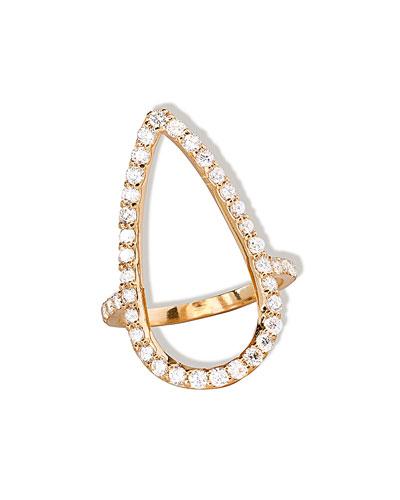 Fatale Diamond Crush Ring