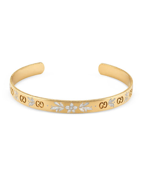 yellow in fairfax bracelet row diamond bangles stack uneek gold illusion bangle three