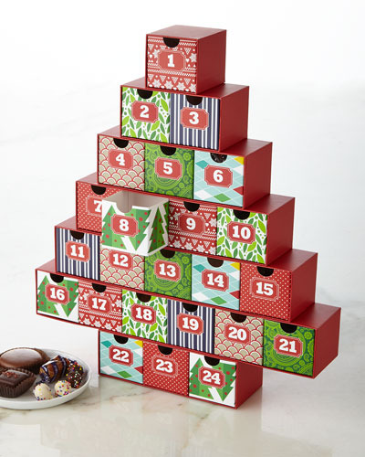 Gourmet chocolate boxes bento boxes chip cookies at for Where to buy cheese advent calendar