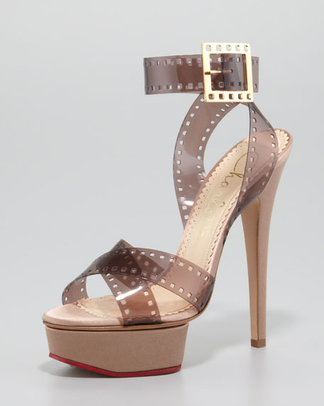 Charlotte Olympia Girls On Film Platform Sandals discount official for sale online reliable online AvRwG