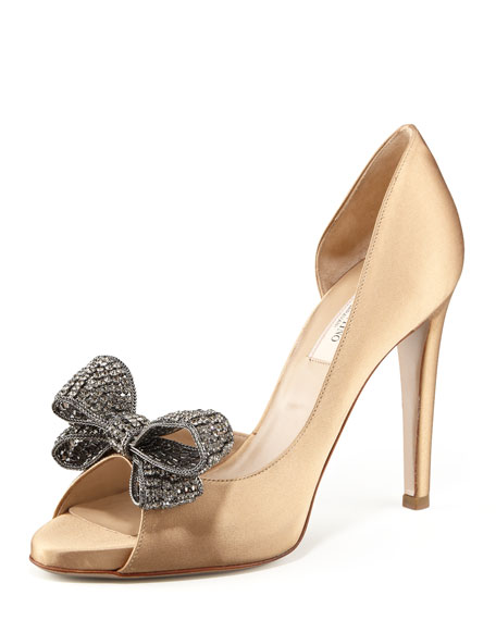 Valentino Couture Bow d'Orsay Pumps buy cheap new styles mCKrfsj