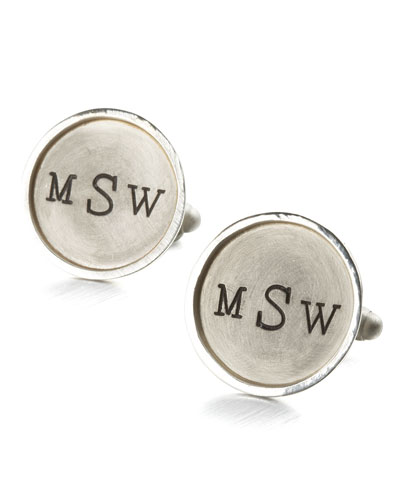 Monogramed Cuff Links