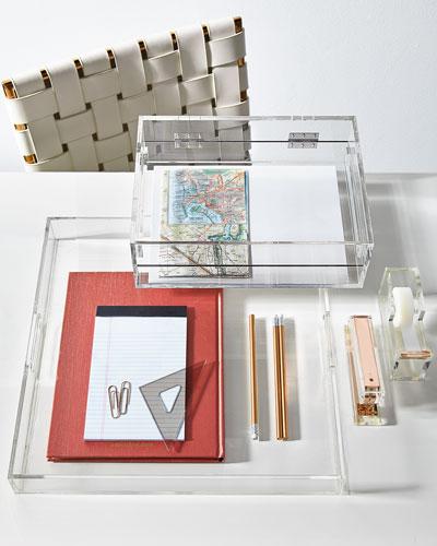 Acrylic Desk Accessories