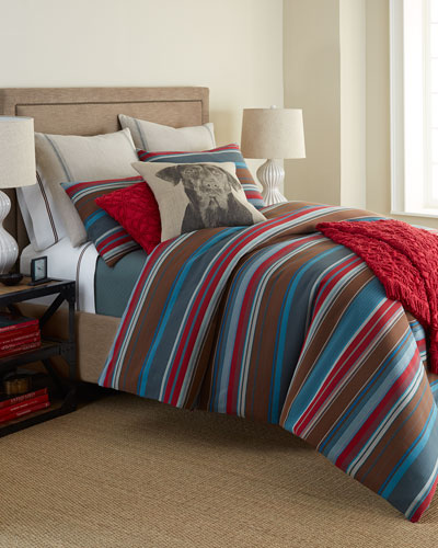 Chalet Stripe Bedding