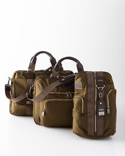Alpha Bravo Olive Business Travel Bags