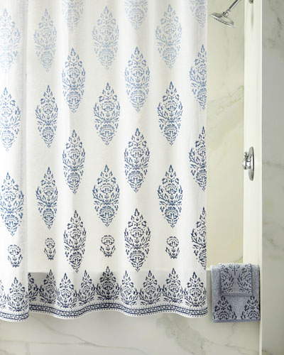 Jalati Bath Towels & Shower Curtain