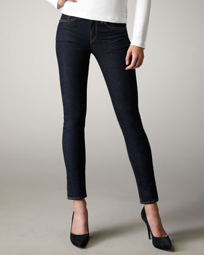 The High-Rise Skinny Heritage Jeans