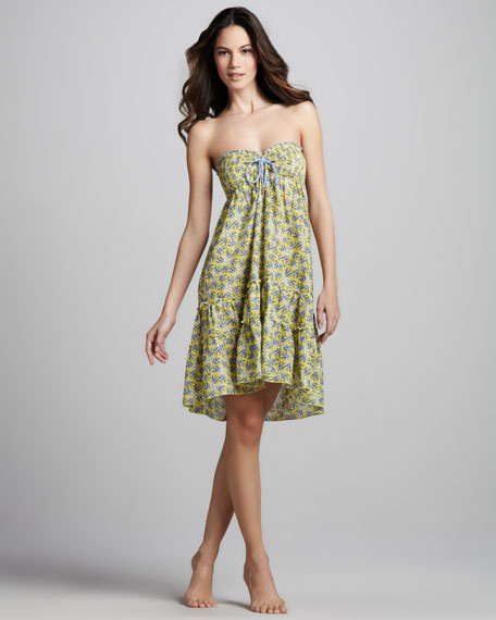 3703ab3ac87f6 Juicy Couture Love Birds Strapless Coverup Dress