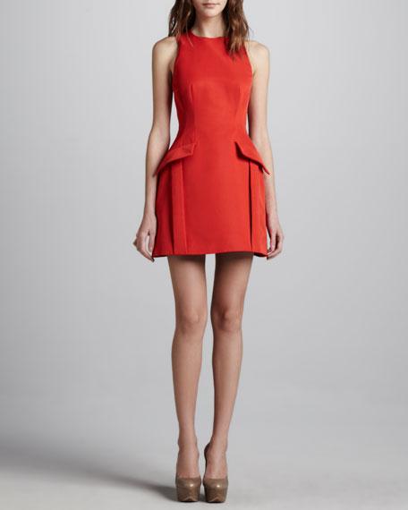 8e6abff369 McQ Alexander McQueen Peplum-Pocketed Dress