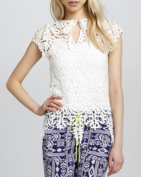Charleston Lace Top