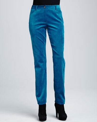 Two-Pocket Corduroy Jeans, Women's