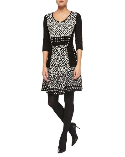 Half Moon Twirl Dress, Petite
