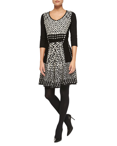 Half Moon Twirl Dress
