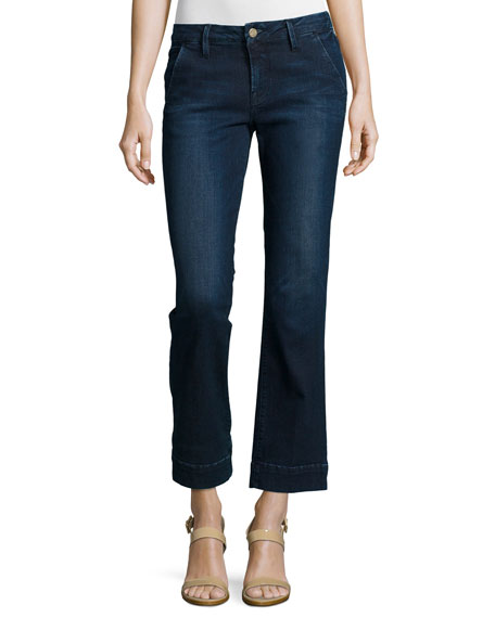 2018 New Cheap Online Sale Online cropped denim jeans - Blue Frame Denim Discount Finishline iACgOc3