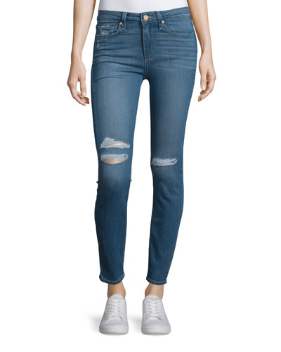 Hoxton Distressed Ankle Jeans, Jayla Destructed
