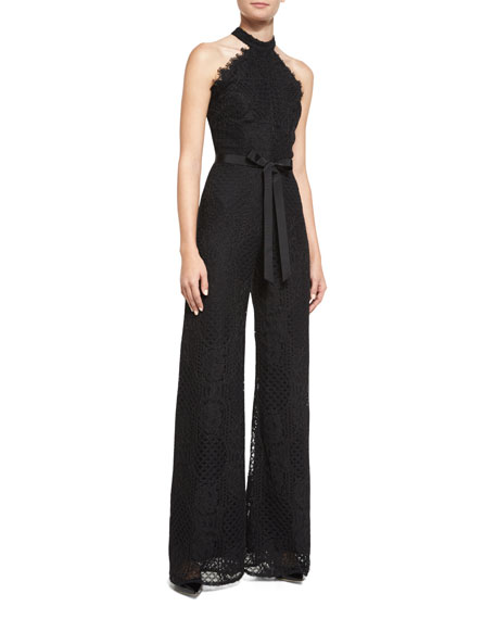 0995dca9c3d Alexis Maylina Lace Sleeveless Jumpsuit