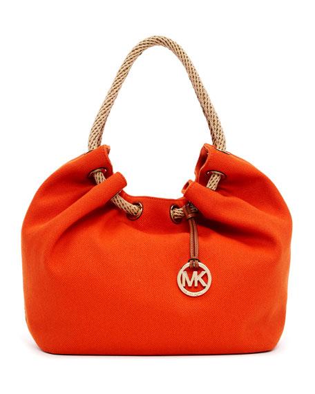 7980392054e0 MICHAEL Michael Kors Large Marina Canvas Shoulder Tote Bag