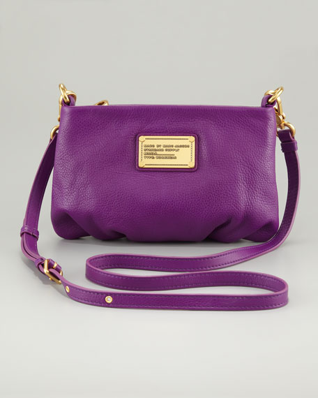 376a09375 MARC by Marc Jacobs Classic Q Percy Crossbody Bag, Violet