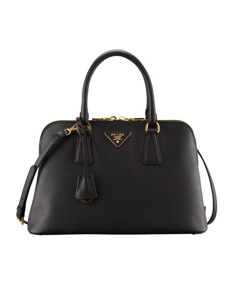 Medium Saffiano Promenade Bag Black Nero