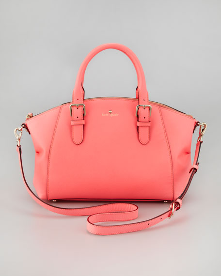 23c29fbcc1 kate spade new york charlotte street small sloan tote bag, coral