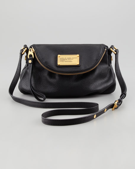 Classic Q Mini Natasha Crossbody Bag Black