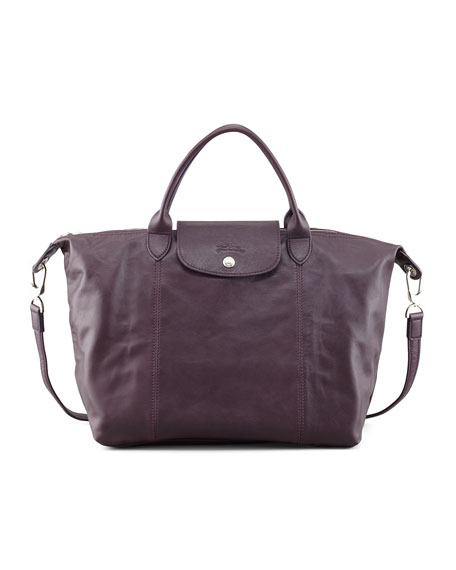 42c0f989f1d2 Longchamp Le Pliage Leather Handbag