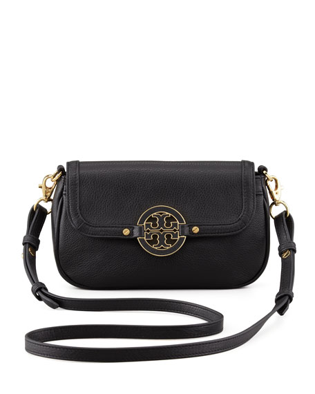 Amanda Mini Messenger Bag Black